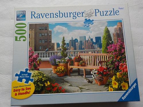 Jardin sur le toit Casse-tête 148684 Ravensburger 500 morceaux