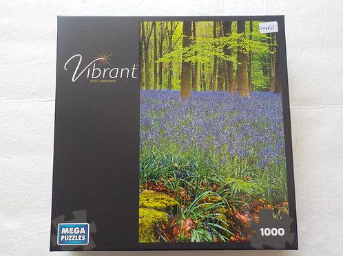 Vue des bois, Vibrant Mega Puzzles  Casse-tête 1000 morceaux