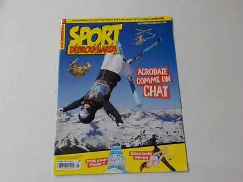 Sport Débrouillards : Acrobate comme un chat Janvier 2017 No.25