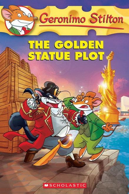 STILTON, Geronimo #55 The golden statue 9780545556293