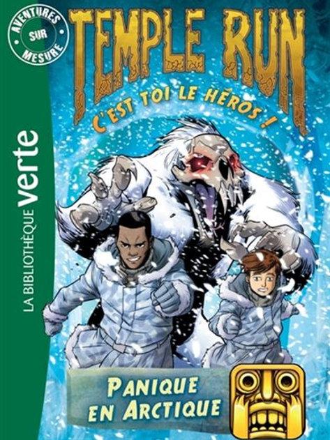 Temple Run T3 Panique en Artique C'est toi le héros9782012317307