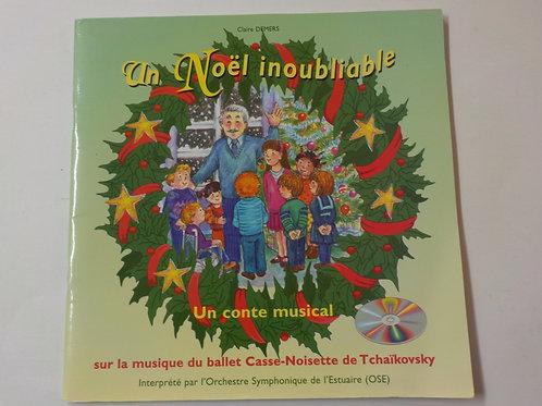 DEMERS, Claire: Un Noël inoubliable, sur Casse-Noisette 9782921188173