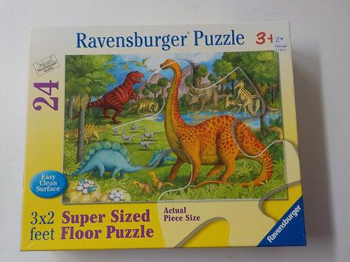 Amis dinosaures 052667 Ravensburger Casse-tête 24 morceaux