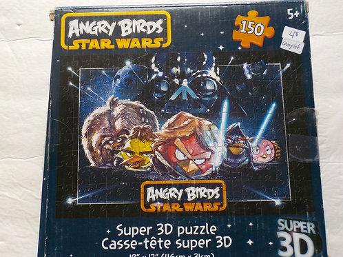 Andry Birds: Star Wars Puzzle 3D Casse-tête 150 morceaux