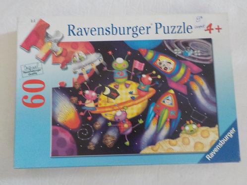 POOLE Amis Alien 095742 Ravensburger Casse-tête 60 morceaux