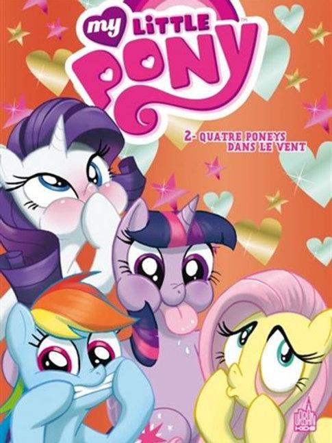 My Little Pony T2 Quatre poneys dans le vent 9782365775892