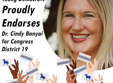 Lee County Young Democrats endorse Cindy Banyai for office