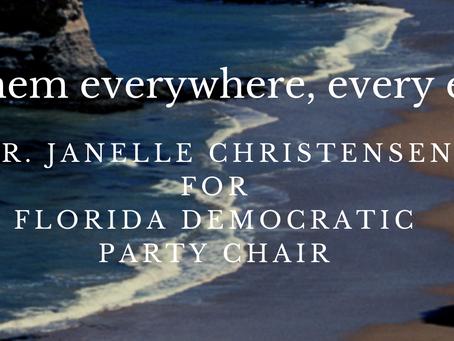 Dr. Janelle Christensen's Platform for Change of the Florida Democratic Party
