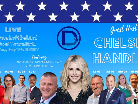 Chelsea Handler to host Town Hall with Dr. Cindy Banyai for National Coalition of Democrats