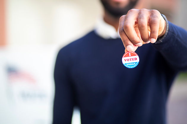 Young-Black-Man-with-I-voted-Sticker-117
