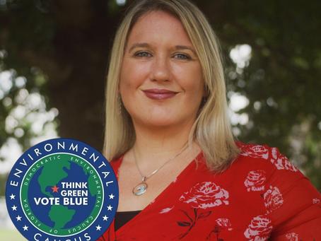 The Democratic Environmental Caucus of Florida Endorses Cindy Banyai