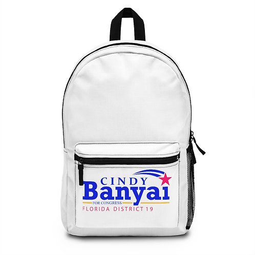 Cindy Banyai for Congress Backpack (Made in USA)