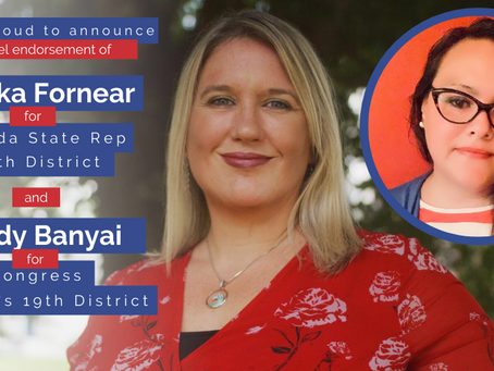 Cindy Banyai and Danika Fornear Endorse Each Other for Office