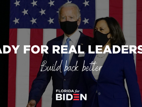 """Biden for President Florida to Hold """"We Know Joe Will Build Back Better"""" Press Conferences"""