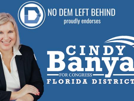 Dr. Cindy Banyai announces first national endorsement