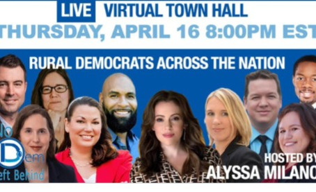 Alyssa Milano hosts virtual townhall with Democratic candidate Cindy Banyai