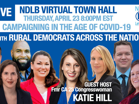 Katie Hill to host virtual townhall for Cindy Banyai (D, FL-19) and members of national coalition