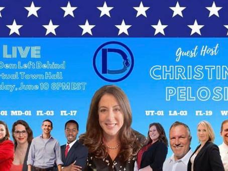 Christine Pelosi to Host Virtual Town Hall for Dr. Cindy Banyai (D, FL19)