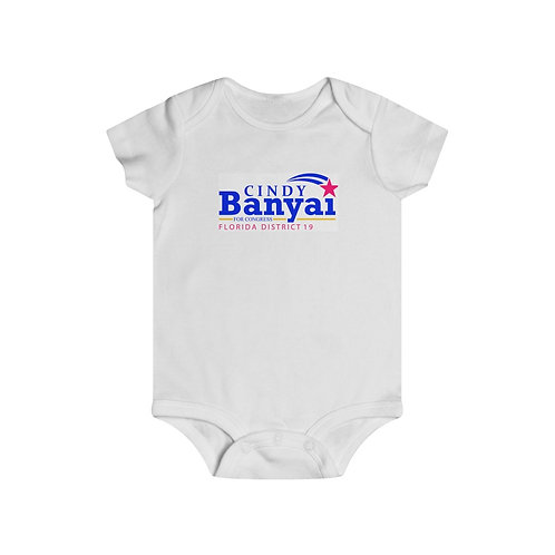Cindy Banyai for Congress Baby Onesie