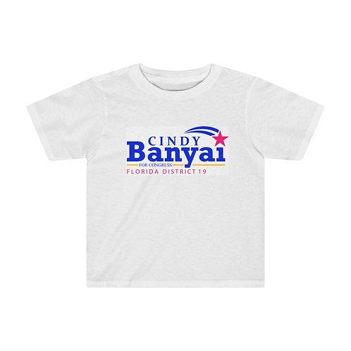 Cindy Banyai for Congress Kids Tee