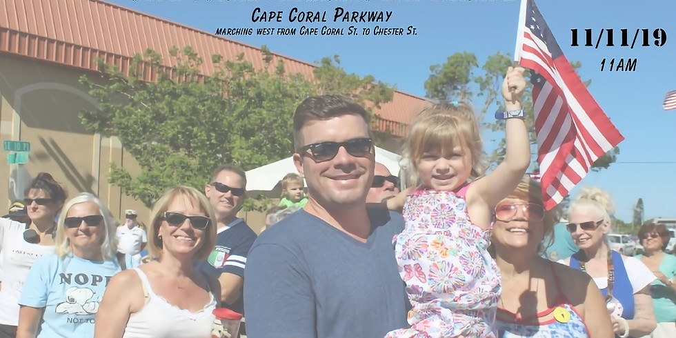 Cape Coral Veterans Day Parade