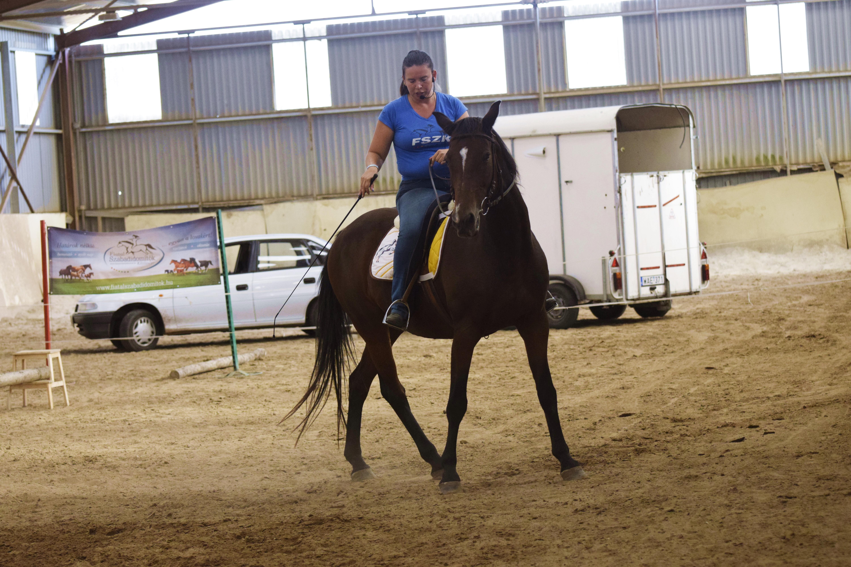 Jana és Ancsu klasszikus lókiképzés