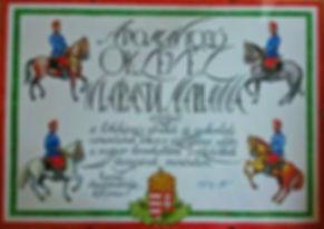Magyar lovaskultúra tiszteletbli lovagja