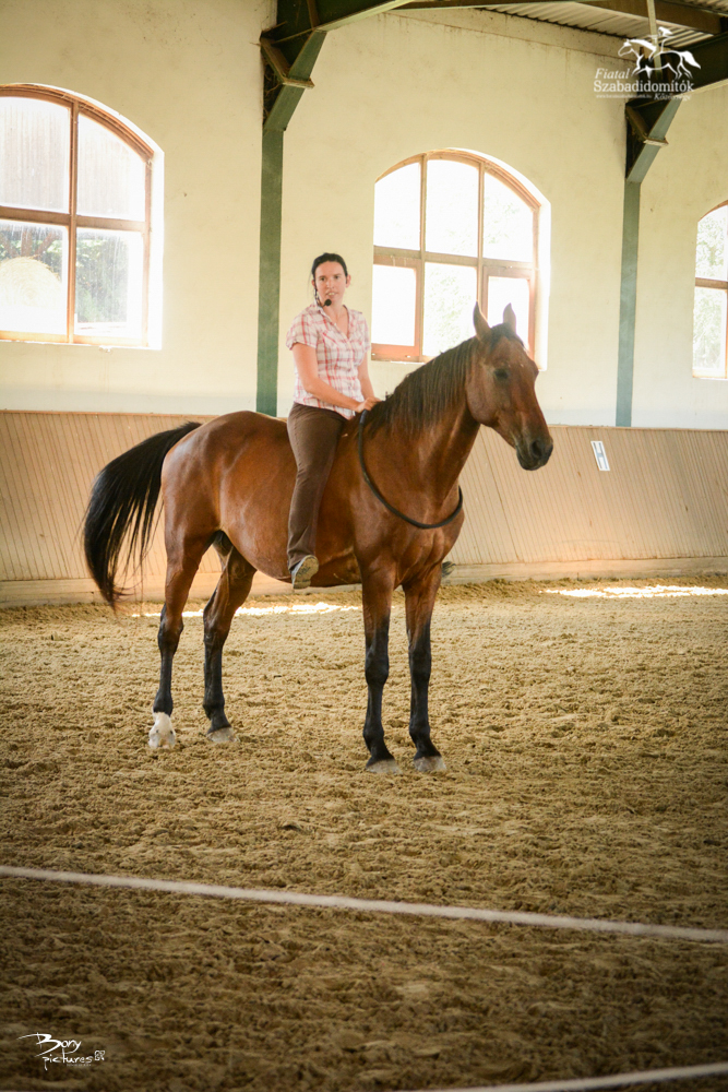 Jana és Harold nyakmagzagos lovaglás