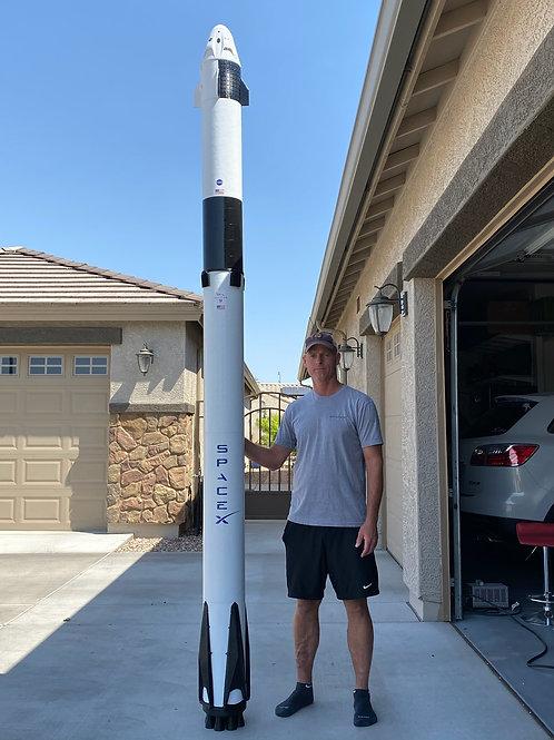 "Falcon 9 Display Model (132"")"