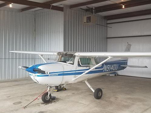 10Hr (hobbs) Block-Cessna 150 N9140U