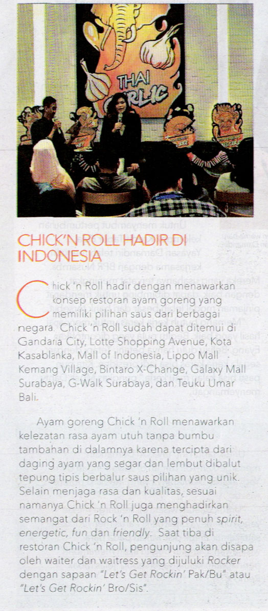 Chick n Roll_Tabloid Wanita Indonesia_180816