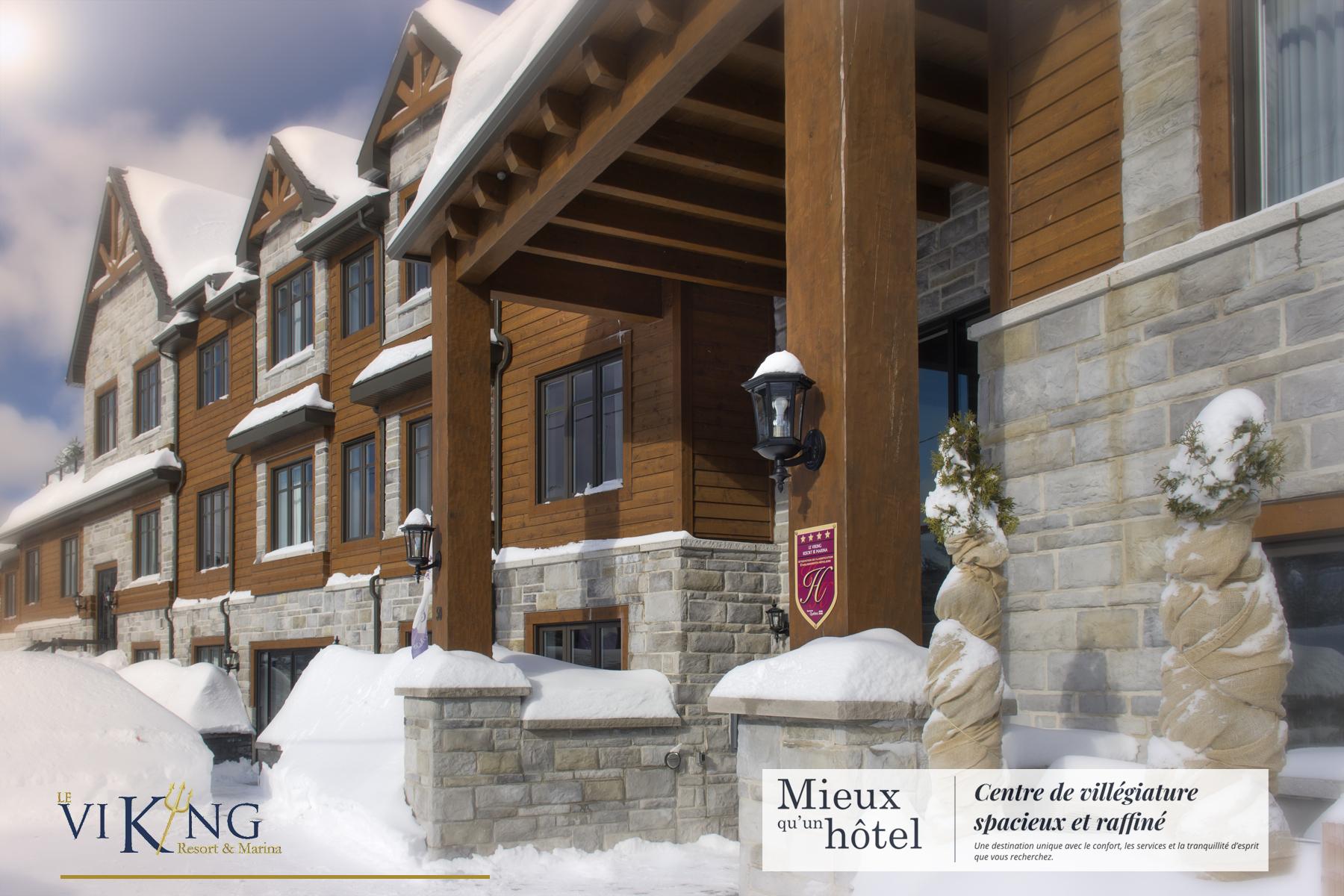 Hotel Viking /  lac Masson