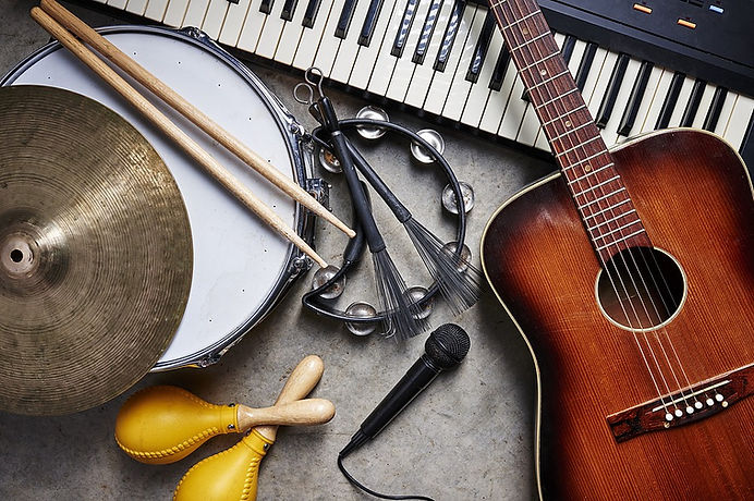 Musical Instruments for music therapy.jp