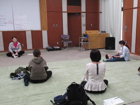 【開催レポ】10/16流山市立森の図書館にて出張ベビーダンス無事に終了しました。