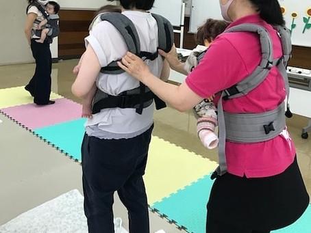 【お知らせ】2/6開催 パパの時間「プチ抱っこ紐講座」@はぐはぐひろば若柴