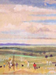Fazenda Boa Vista, de Minas, 1960, 003-60, osm, 26 X 73 cm.
