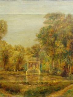 Parque Municipal, 1943, 001-43, ost, 38 X 55 cm.
