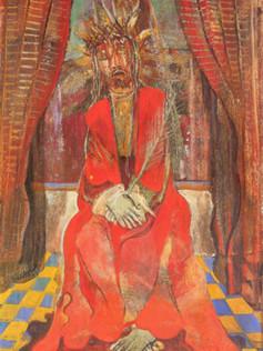 Jesus da cana verde, osm,1948,001-48, 48 X 32 cm.