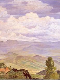 Serra da Bocaina em Itatiaia, 1940, 002-40, 37 X 53 cm.