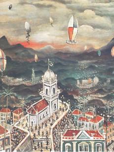 Noite de São João, 1940, 004-40, osm, 55 X 80 cm.