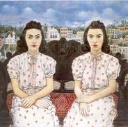 G-050-R-026-As gêmeas Lea e Maura, 1940.