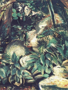 Paisagem tropical, 1937, 003-37, ost, 50 X 62 cm.