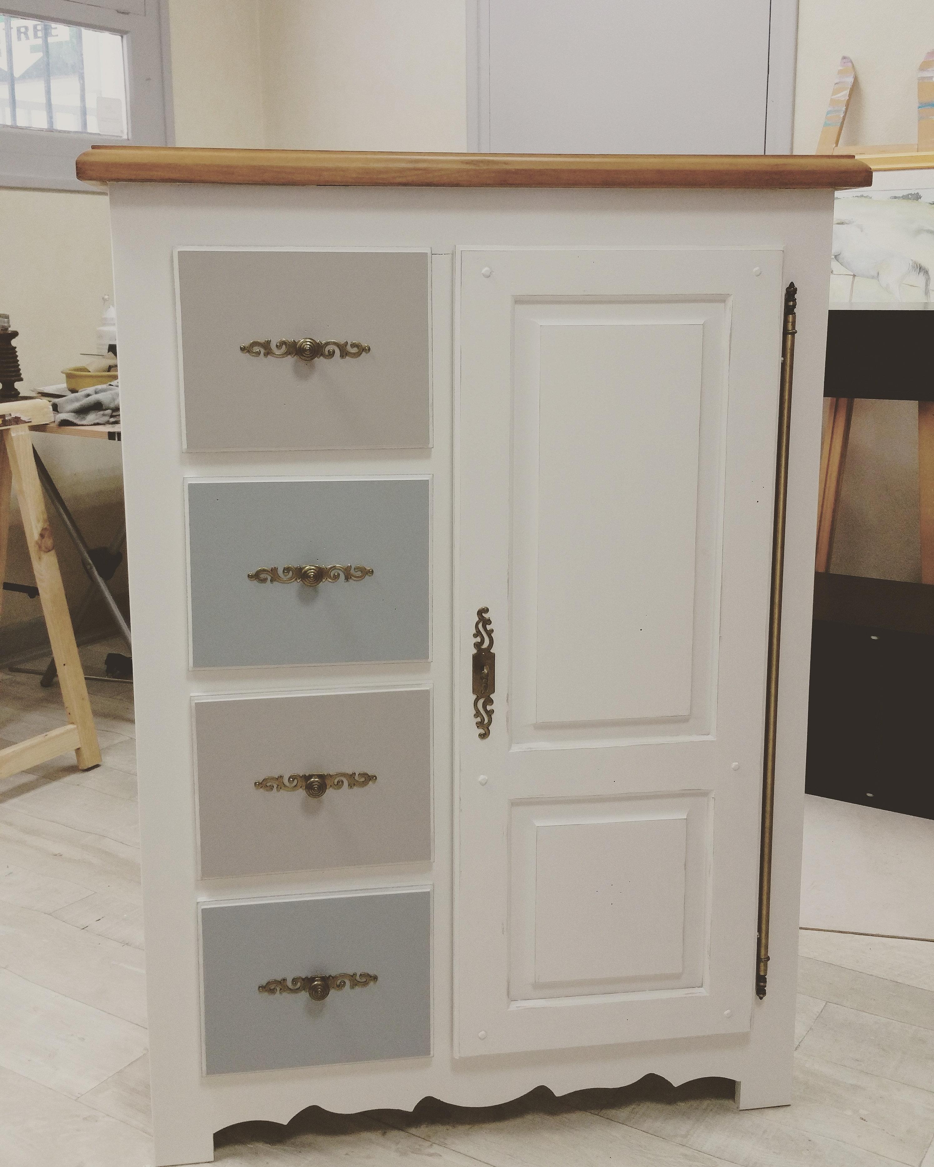 relooking meuble bois. Black Bedroom Furniture Sets. Home Design Ideas