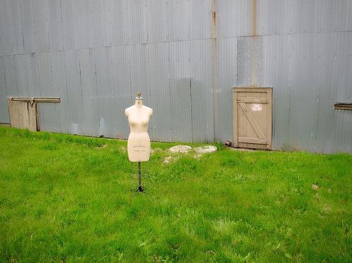 Dressmaker dummy.