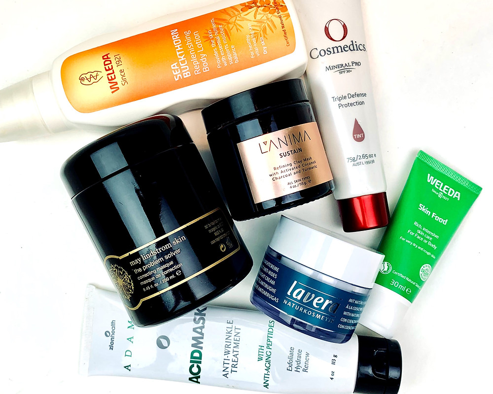 Plant based skin care products