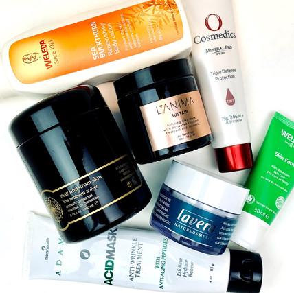 Skin Care Regimen for 60+