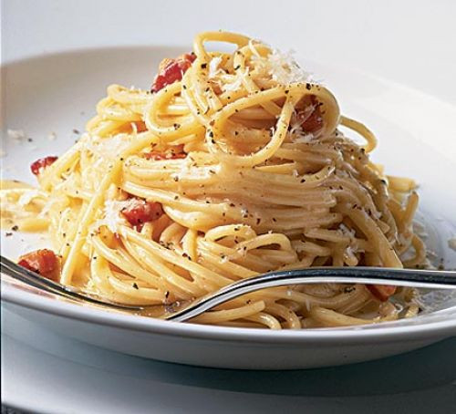 Poisoned By Carbonara and Saved By Whisky