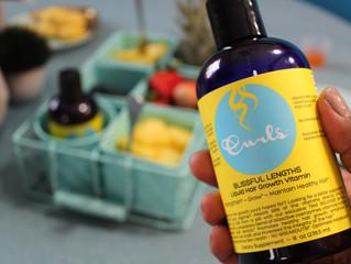 Blissful Lengths Liquid Hair Growth Vitamin Challenge Recap