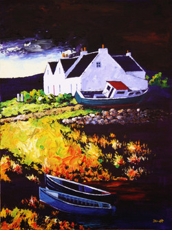 House with Boat, Kallin