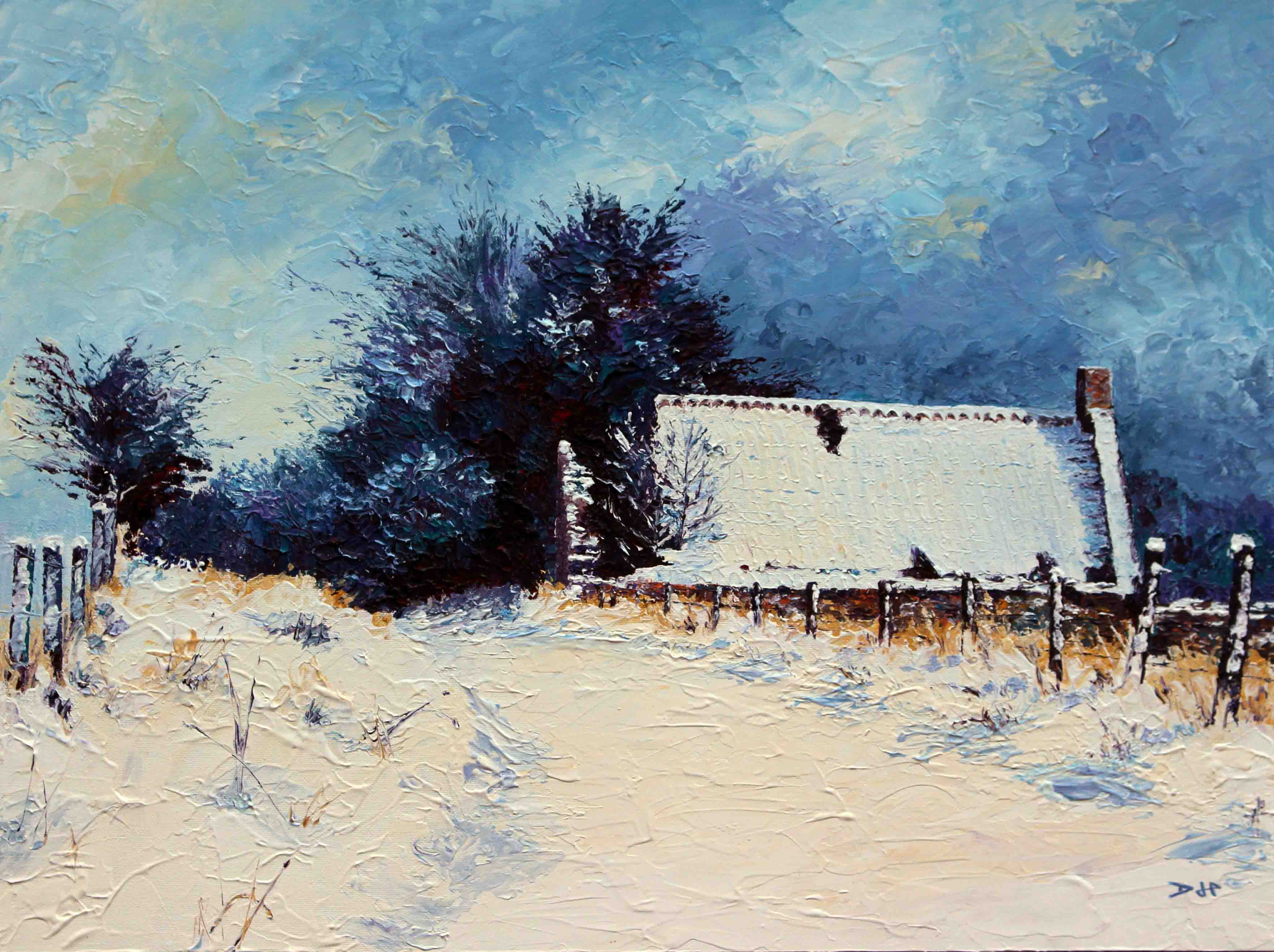 Linnhead Cottage (Winter)